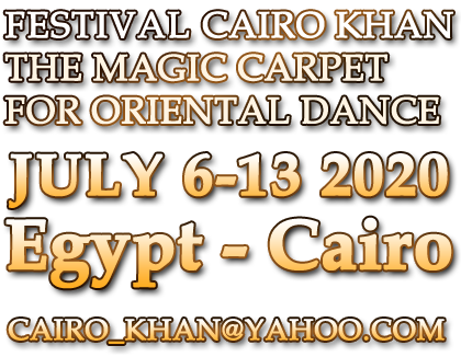 CAIRO KHAN THE MAGIC CARPET FOR ORIENTAL DANCE